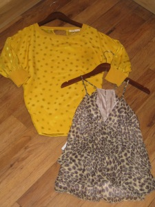 Rebecca Taylor Leopard Tee and Star Light Star Bright Top