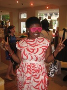 Happy Customer at Alice + Olivia Trunk Show