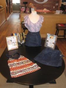 Anlo Macey Tie Front Skirt