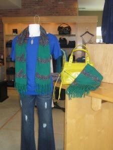 AKA New York Paisley Wool Scarf