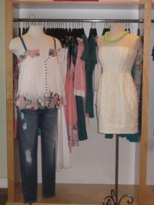 Catherine Malandrino Ingenue Cami and Shoshanna Strapless Tulip Dress