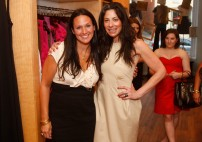 Lindsay Buscher and Stacy London