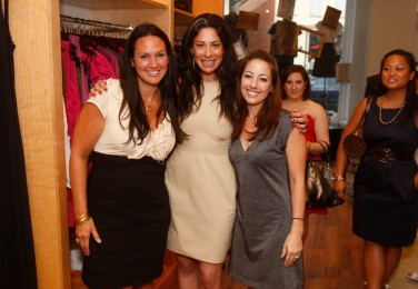 Lindsay Buscher and Stacy London with Guest