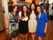 Lindsay Buscher and Stacy London with Guests