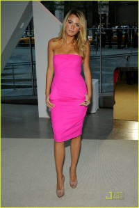 Blake Lively in Hot Pink
