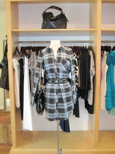 Joie Gemini Belted Shirtdress