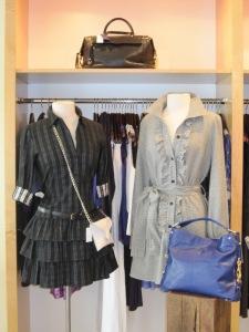 Theory Cacey Tunic Dress and Sunner Ruffled Tunic Dress