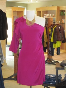 Diane von Furstenberg Cobb Dress in Berry