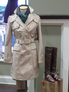 Juicy Couture Belted Trench Coat