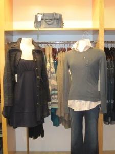 Susana Monaco Scoop Pocket Dress, BB Dakota Leona Coat and Shae Pullover with Pocket