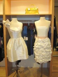 Kirribilla Silk Wool Blend Dress and Party Dress with Rosette Skirt