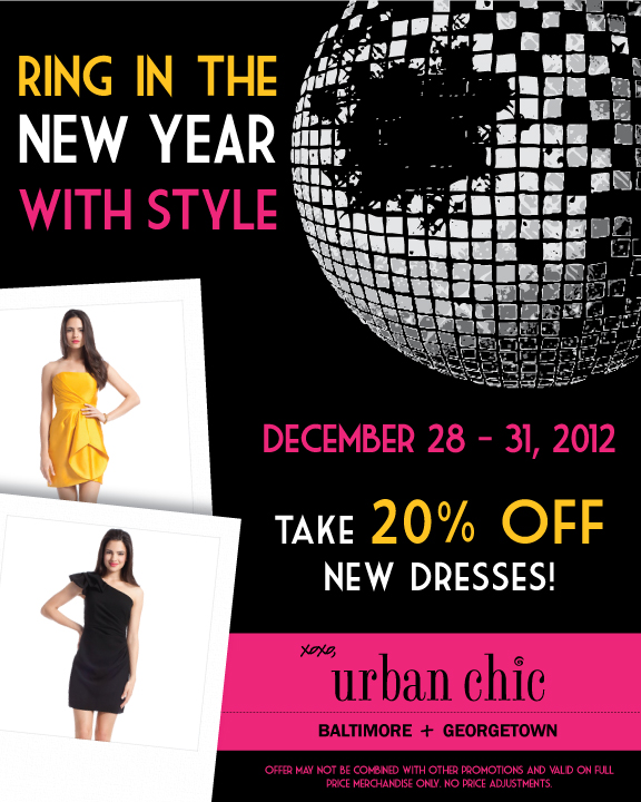 New Years Eve Dress Sale